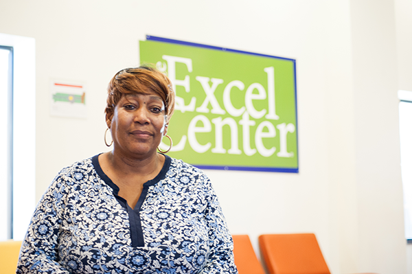 Brenda graduated from The Excel Center at the age of 46