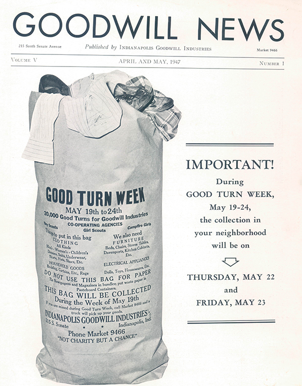 Goodwill News from 1947