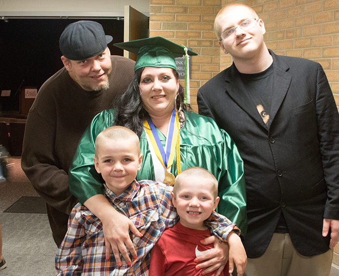 Heather has not only changed her own life course, but that of her family as well