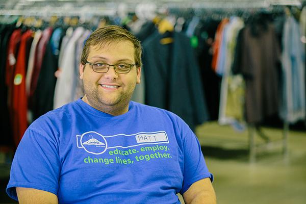 Matt Goodsman at our Greenwood store