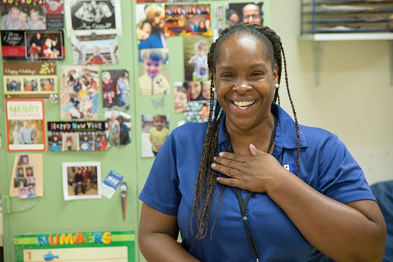 As a parent, Rachel Ragland loved The Children's Learning Center so much she became a teacher there