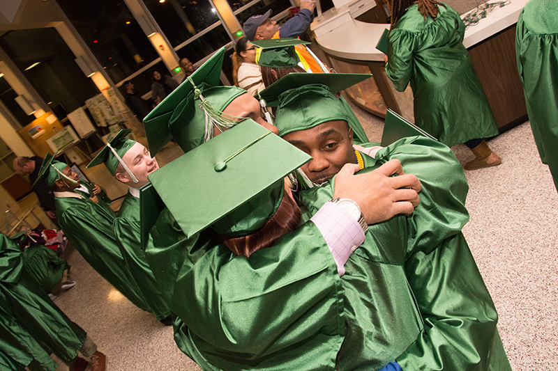 The Excel Center graduation ceremonies are powerful