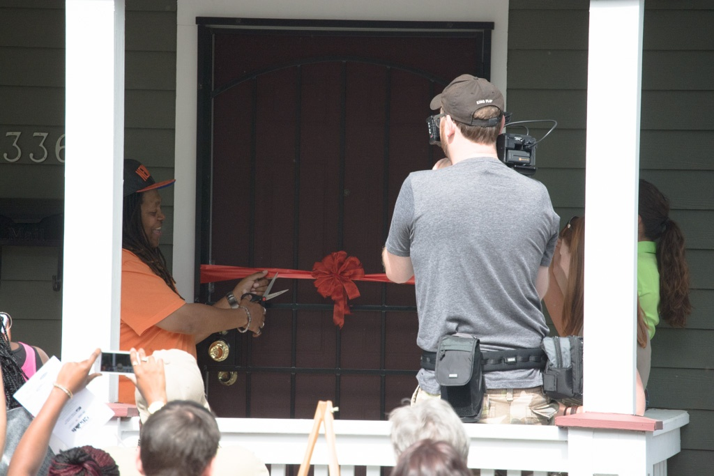 Verdell was excited to become a homeowner