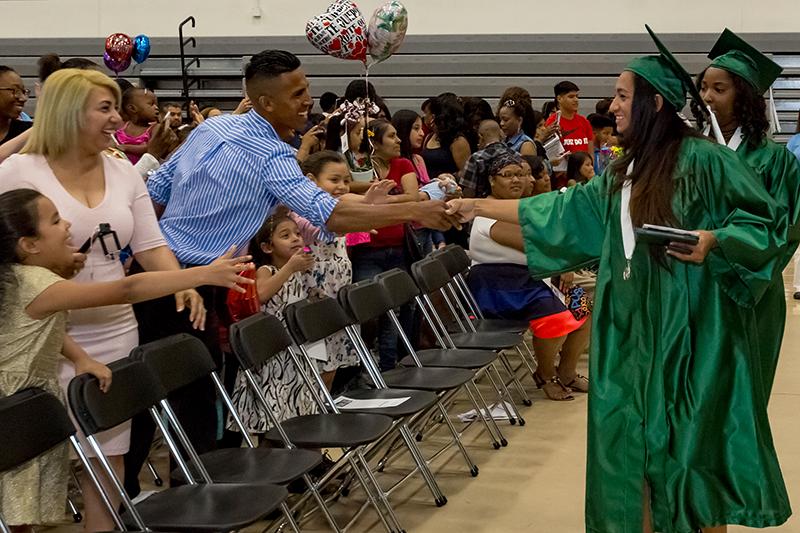 The Excel Center graduations are often very joyful