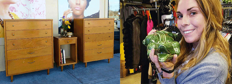 Mid Century furniture and fun finds at Vintage Vogue