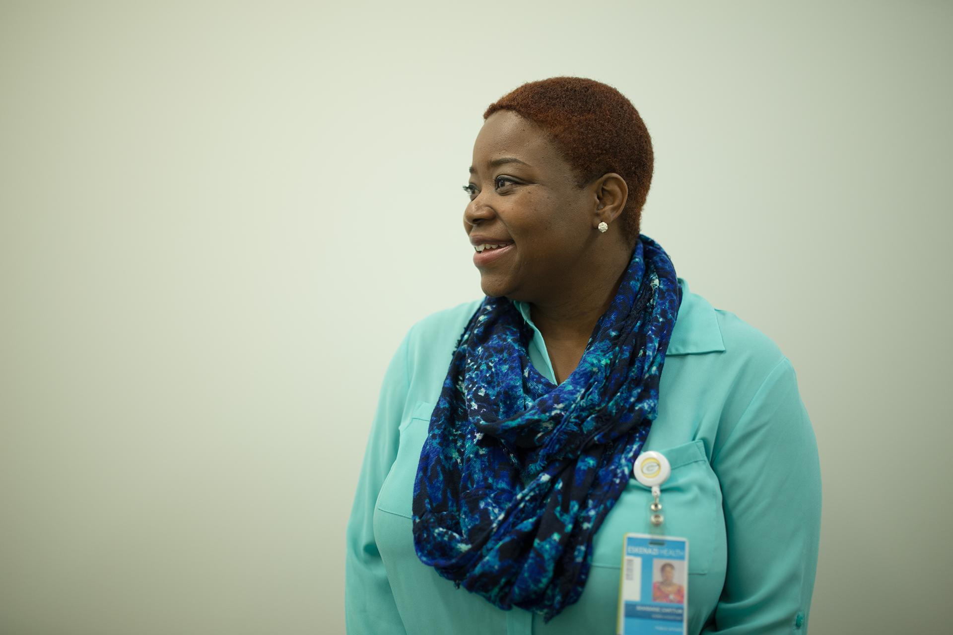 Denise is a graduate of the Nurse-Family Partnership program