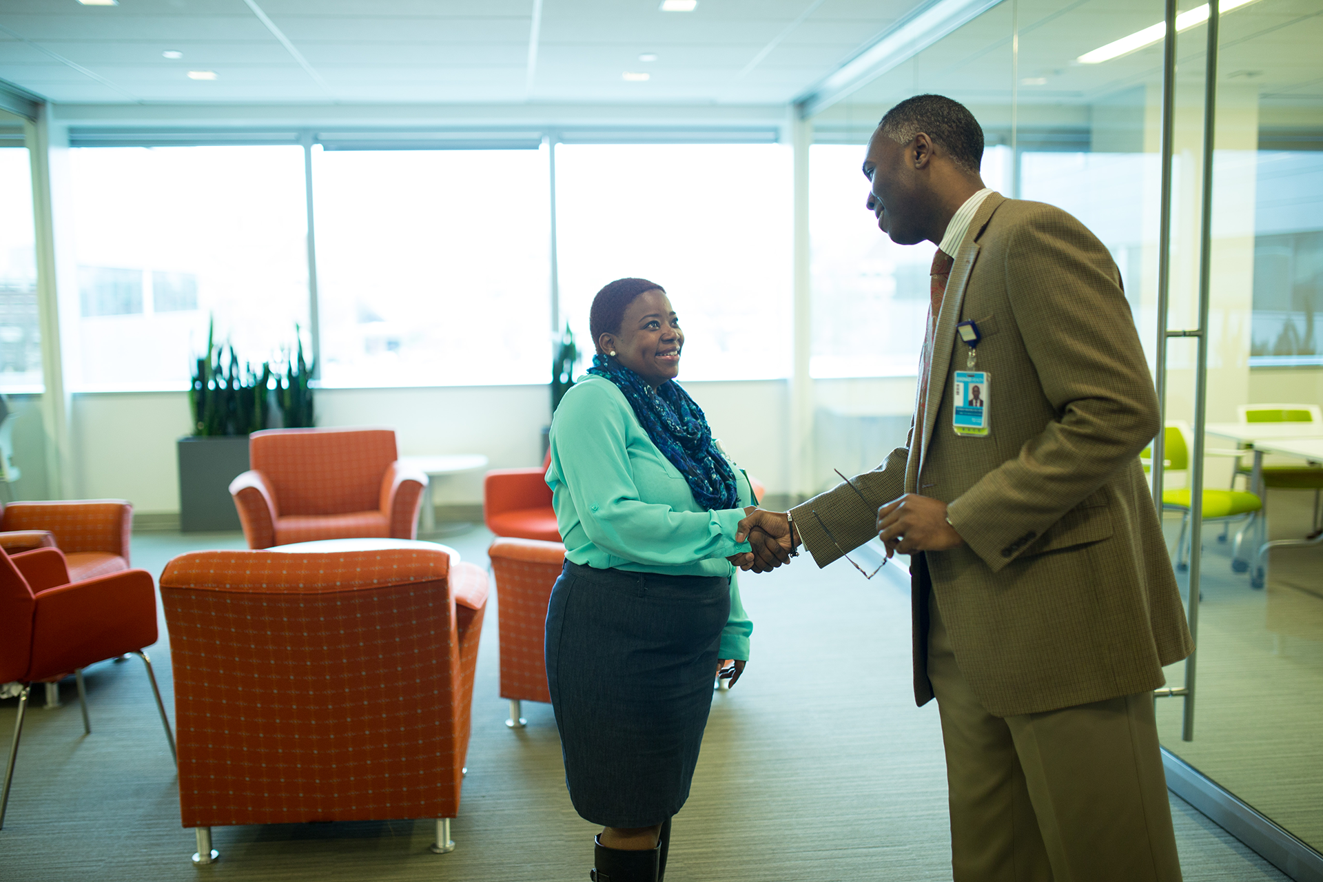Denise joined Goodwill's NFP Community Advisory Board and now works alongside Goodwill and Eskenazi leaders
