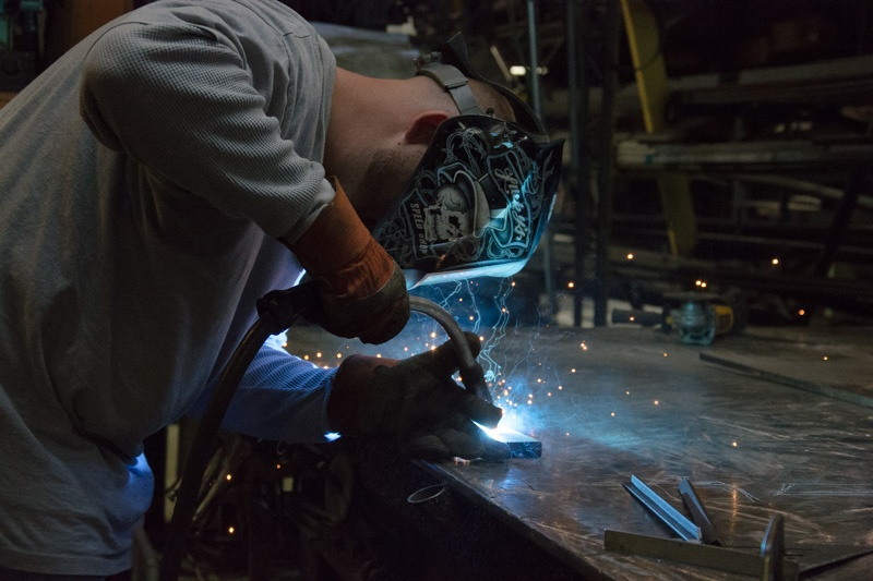 Now, a certified welder, Cory is making enough to support he and his child.