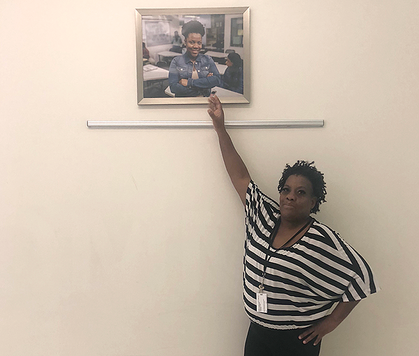 Marion Thompson is proud of her Indianapolis Met graduate daughter, Ti'Sharon.