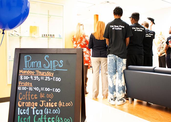 Puma Sips Coffee Shop